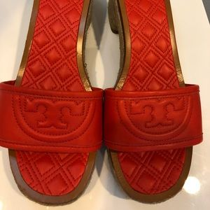 Tory Burch low wedge slides